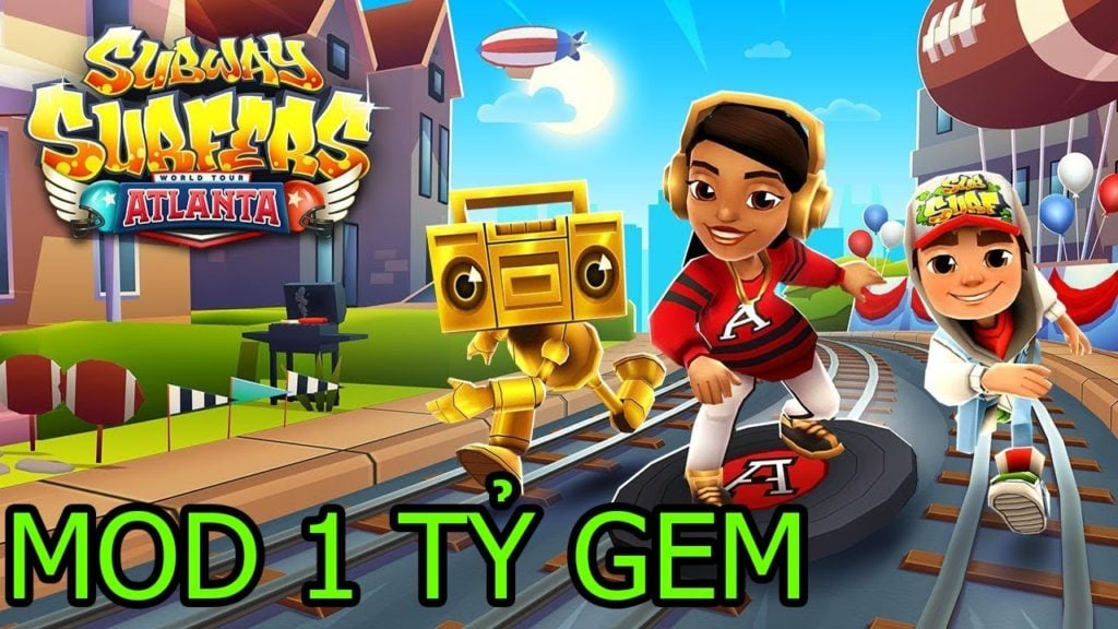 Download Subway Surfers Mod Full Gold
