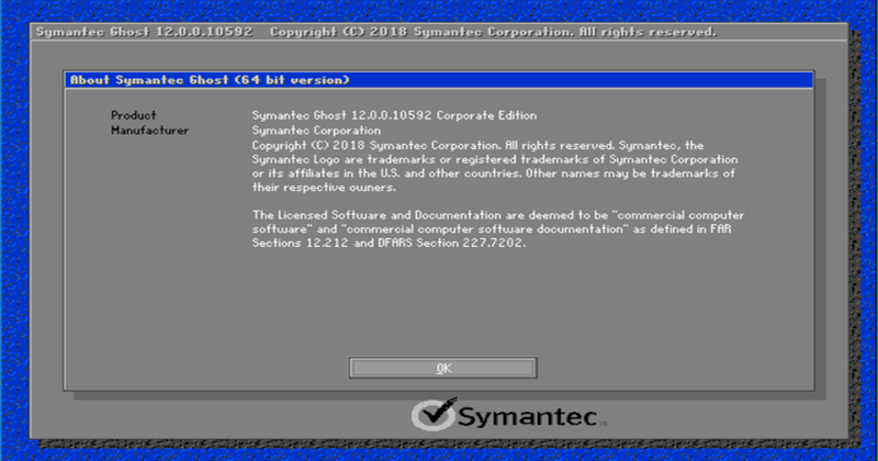 Symantec Ghost Boot CD12_1